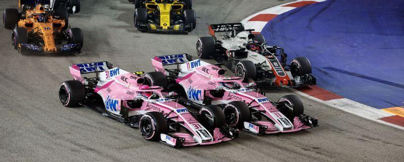 Singapore Grand Prix - Radio Ga Ga: 'He really wants me to crash?'