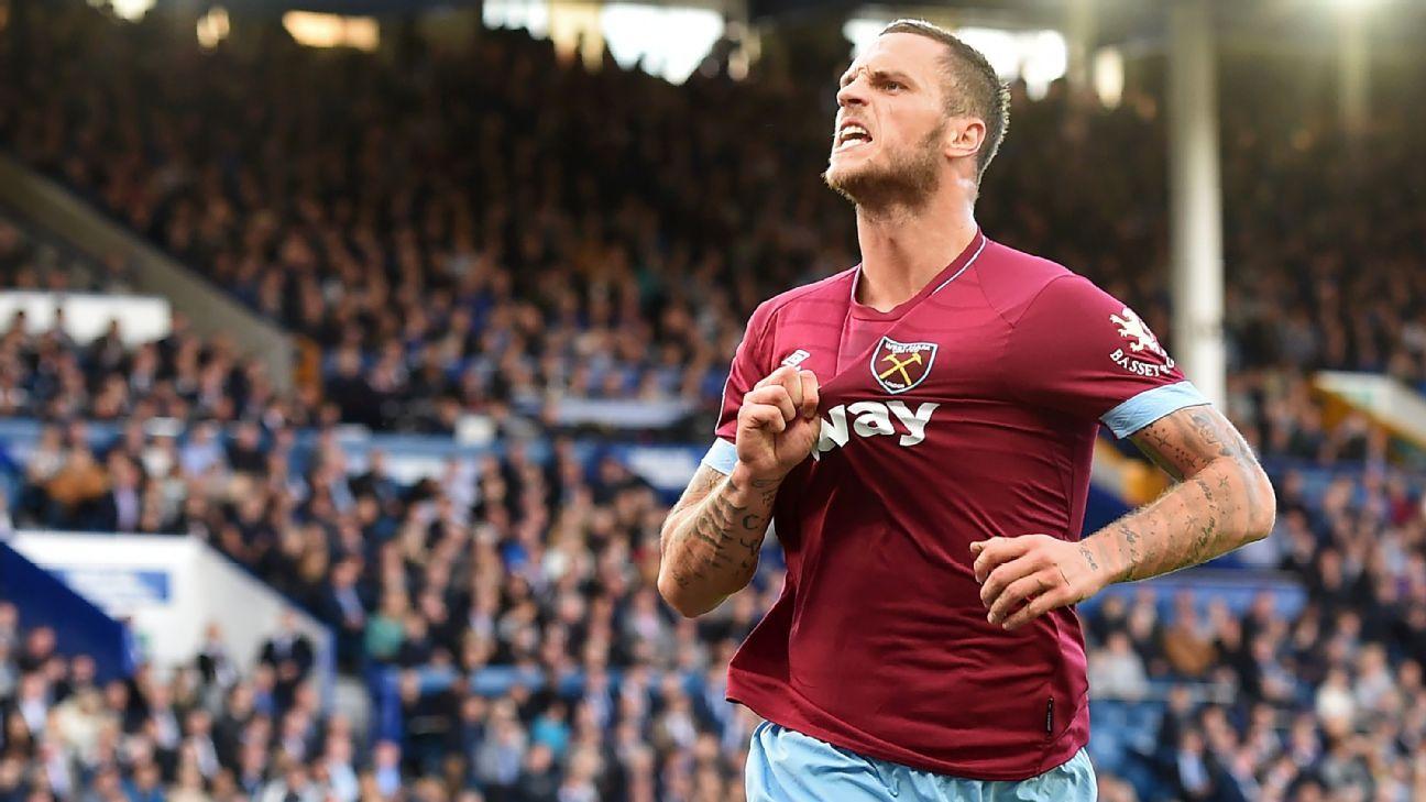 West Ham forward Marko Arnautovic a doubt for Chelsea clash