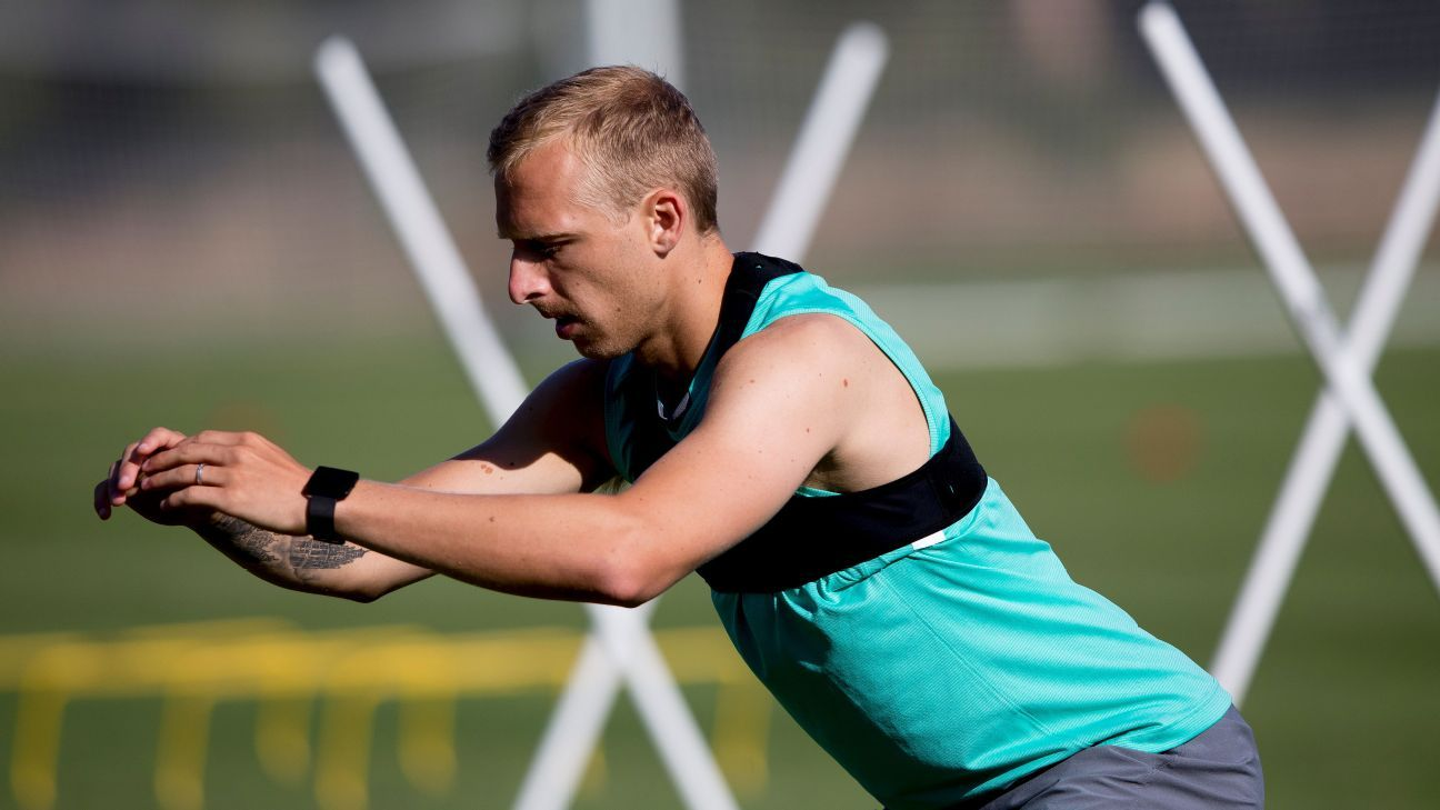 Melbourne City marquee Ritchie de Laet: 'I just want to play football again'