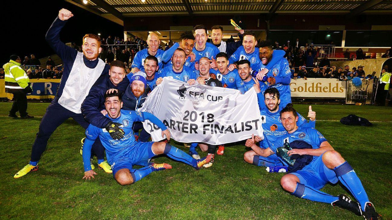 Avondale FC's FFA Cup quarterfinal showdown with Sydney FC caps remarkable rise