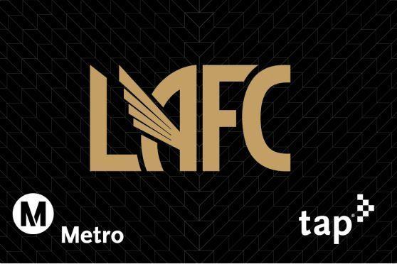 LAFC lanza tarjetas del metro para sus aficionados