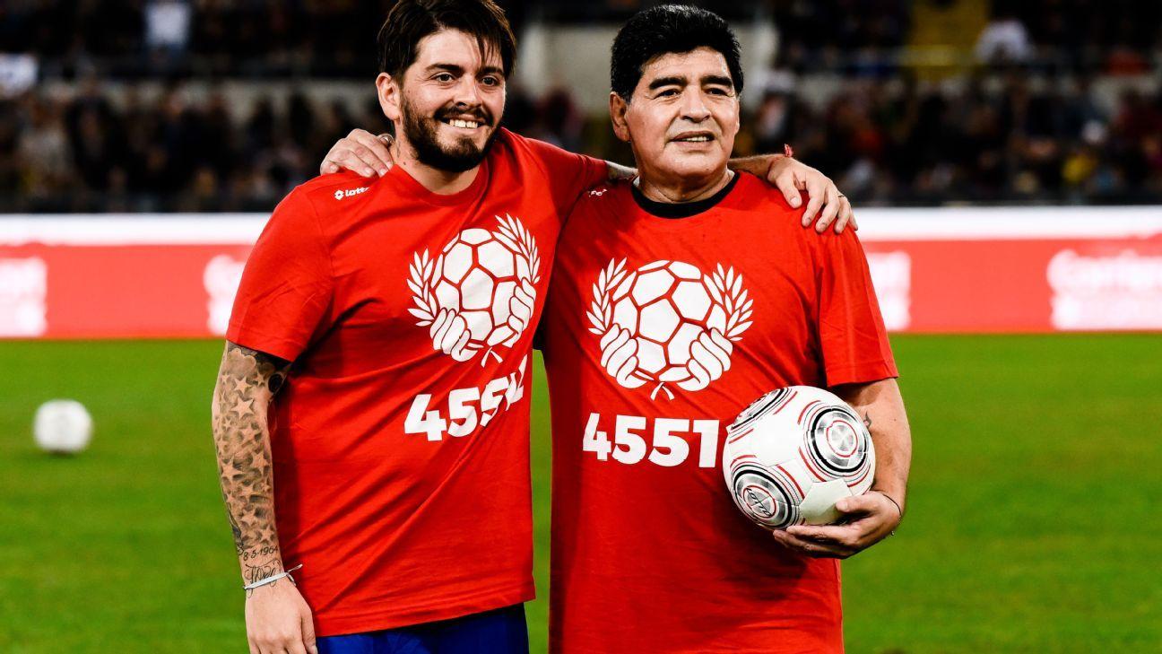 Hijo de Maradona jugará en un equipo de quinta división