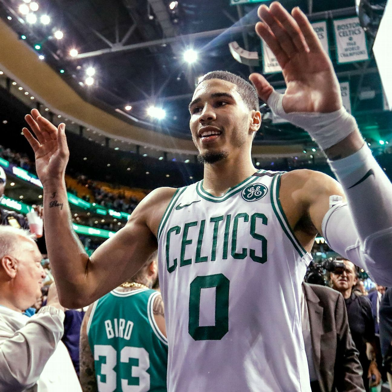 Pain-free Kyrie says Celts poised to be special