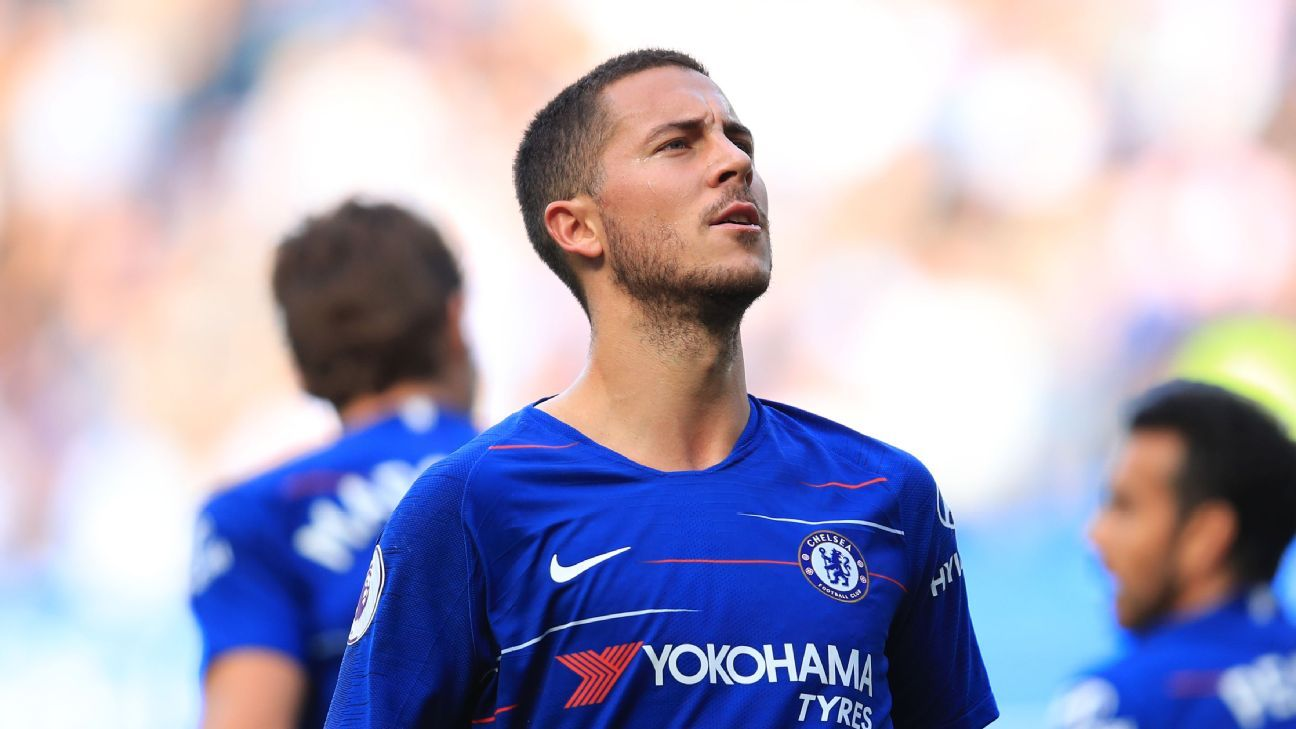 Chelsea's Eden Hazard dropped for Europa League game to manage minutes