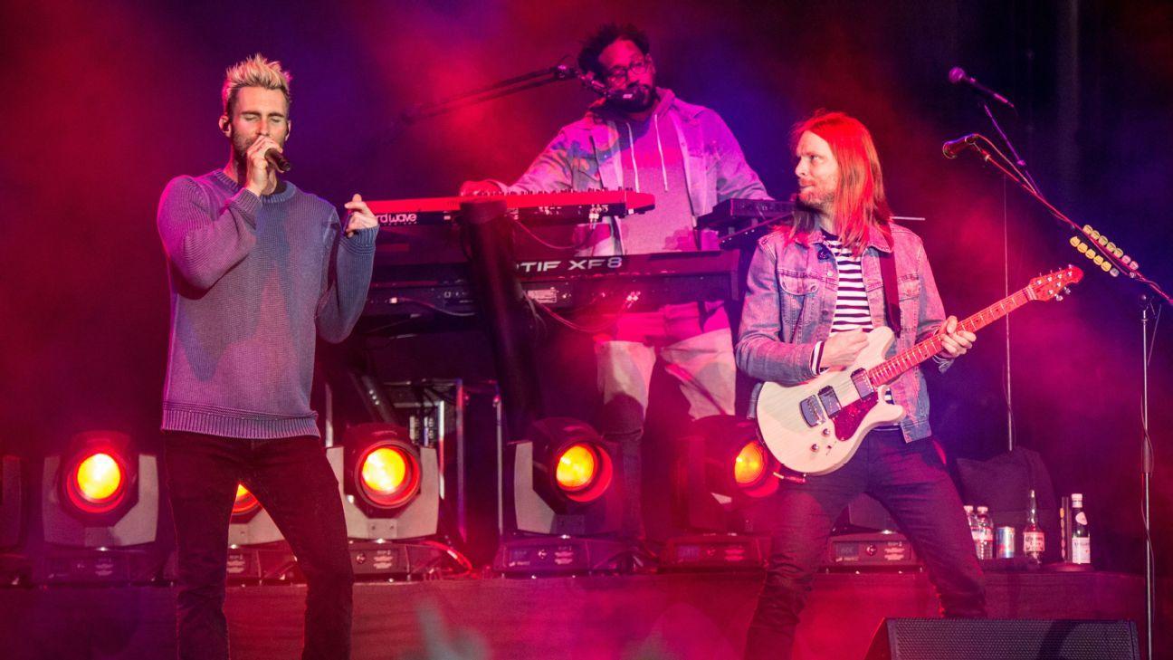 Maroon 5 serían los encargados del medio tiempo en el Super Bowl LIII