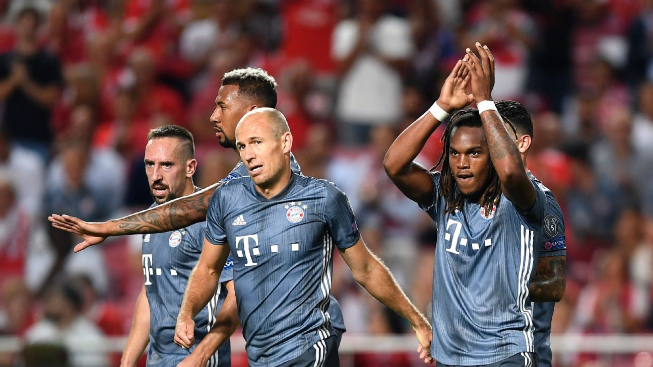 Bayern's Renato Sanches scores, earns applause on return to Benfica