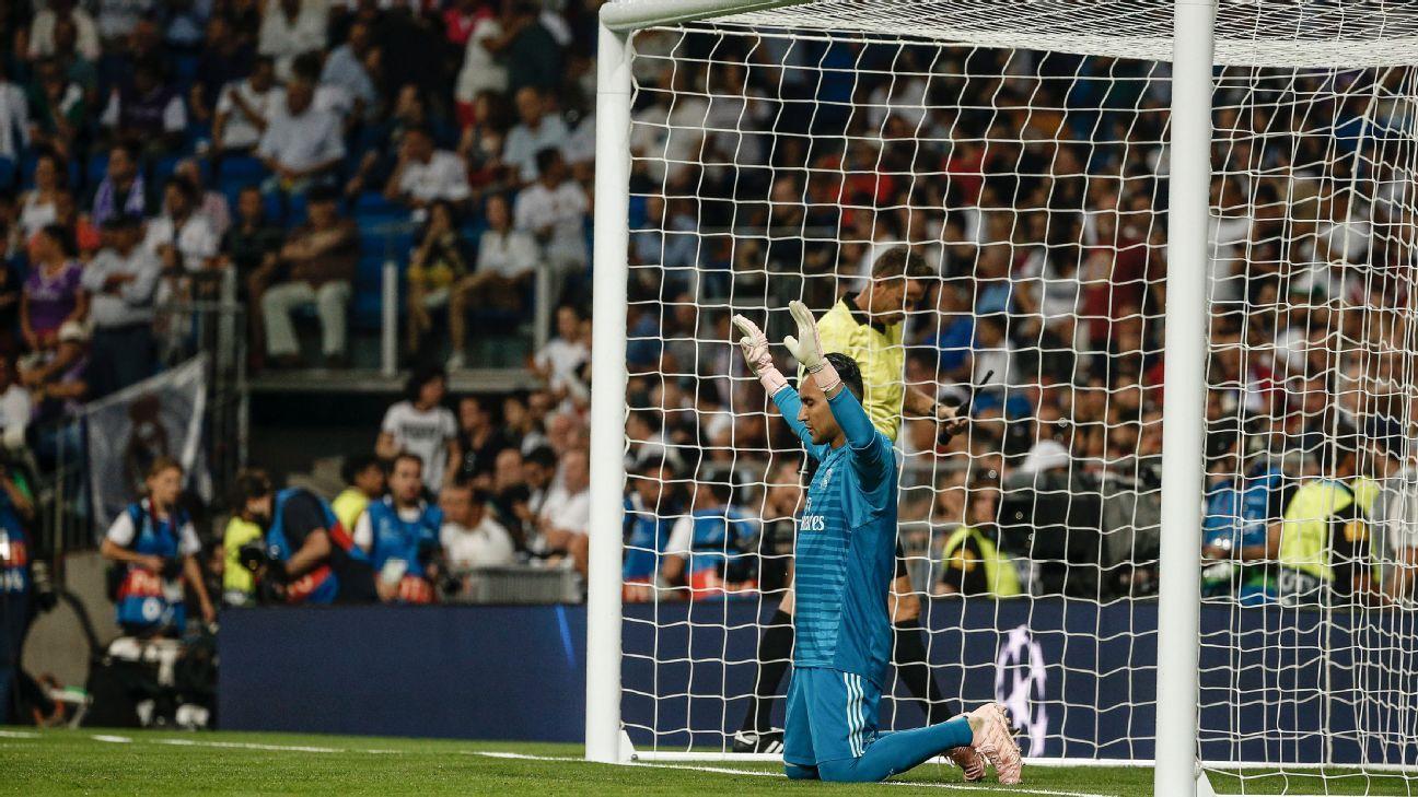 Keylor Navas se justificó como arquero de Champions League