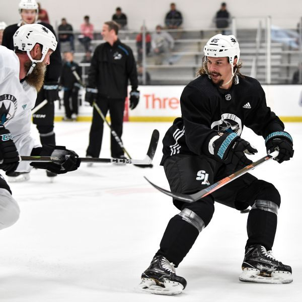 Excited Erik Karlsson says he just wants to fit in with Sharks