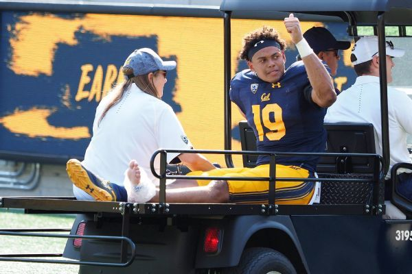 Cal linebacker Cameron Goode (lower-body injury) out for season