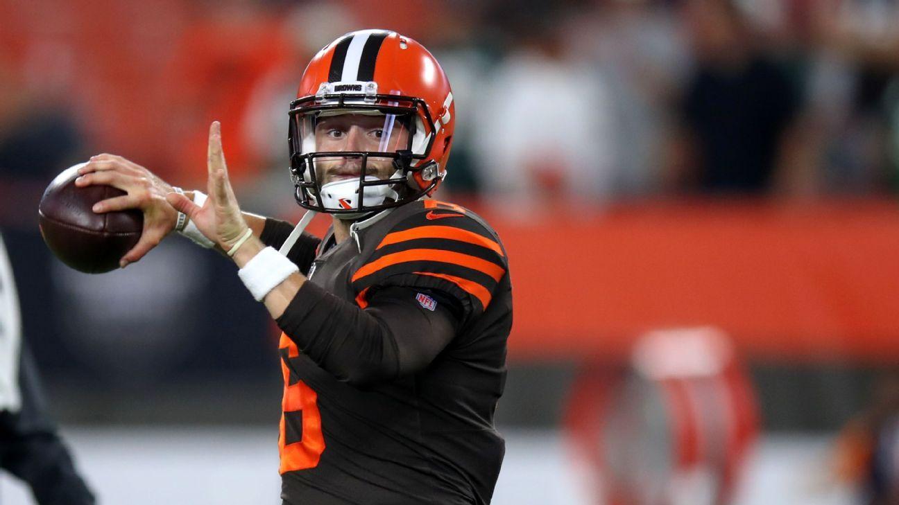 Baker Mayfield debuta para los Cleveland Browns