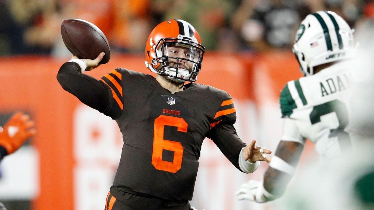 Nº1 do Draft 'põe fogo' no jogo, Browns batem Jets e vencem na NFL após 635 dias