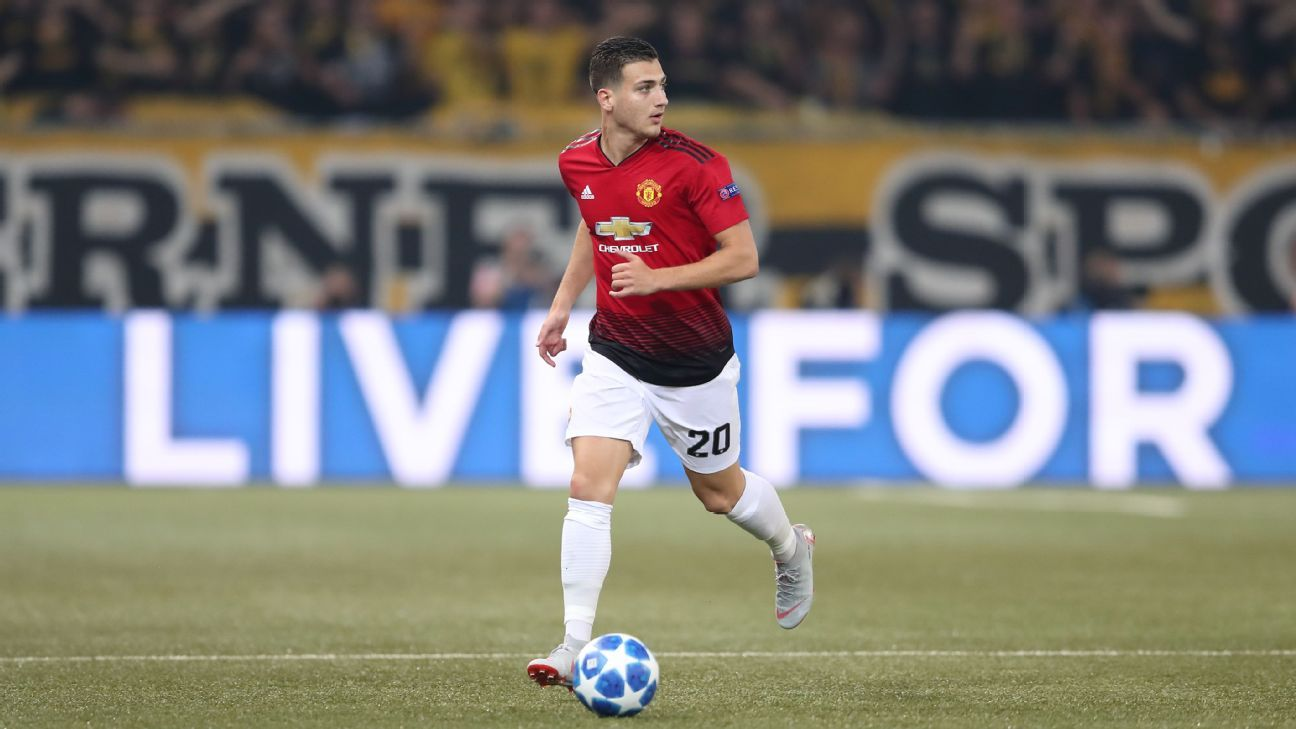 Jose Mourinho tells Diogo Dalot to wait for Premier League debut after impressing vs. Young Boys