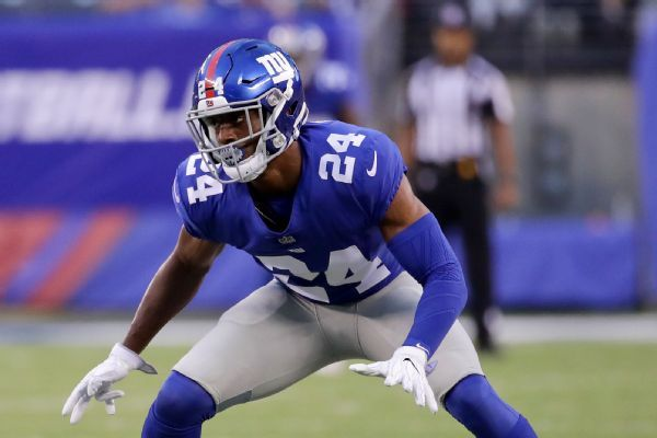 Saints acquiring CB Eli Apple in trade with Giants