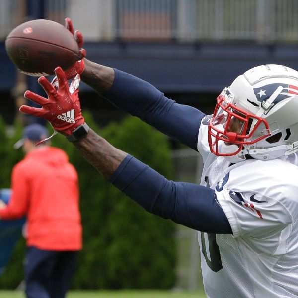 Newcomer Josh Gordon 'working at it every day,' says Patriots' Tom Brady