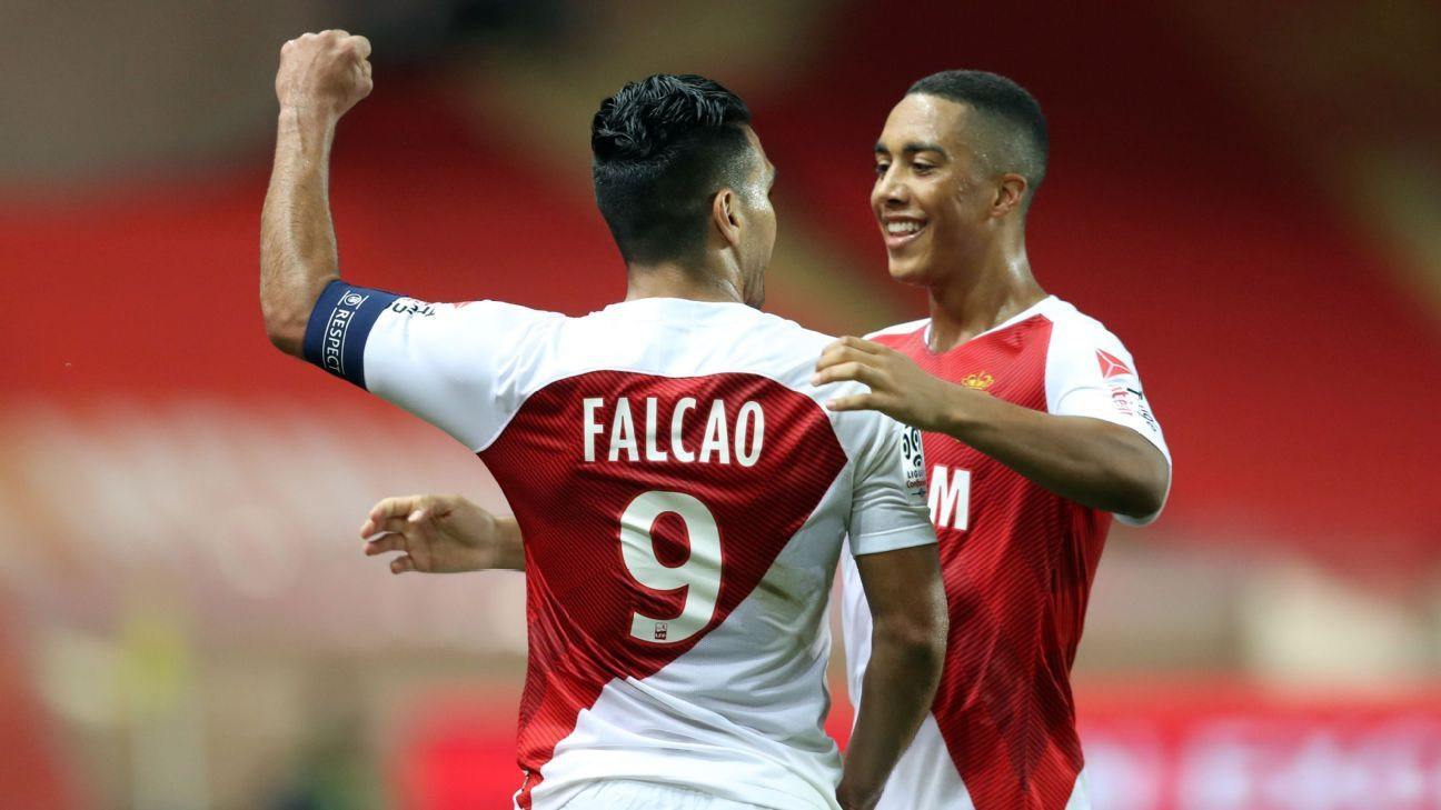Falcao scores screamer, misses chances in Monaco draw vs. Nimes