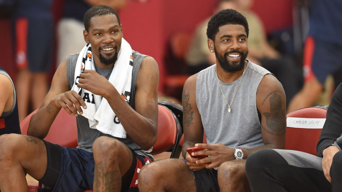 Libre de dolor, Kyrie Irving afirma: Celtics vencerán a Warriors