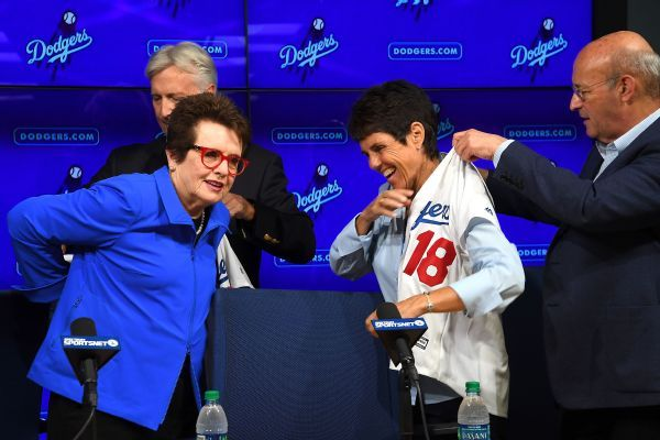 Billie Jean King hopes to 'make a difference' as Dodgers minority owner