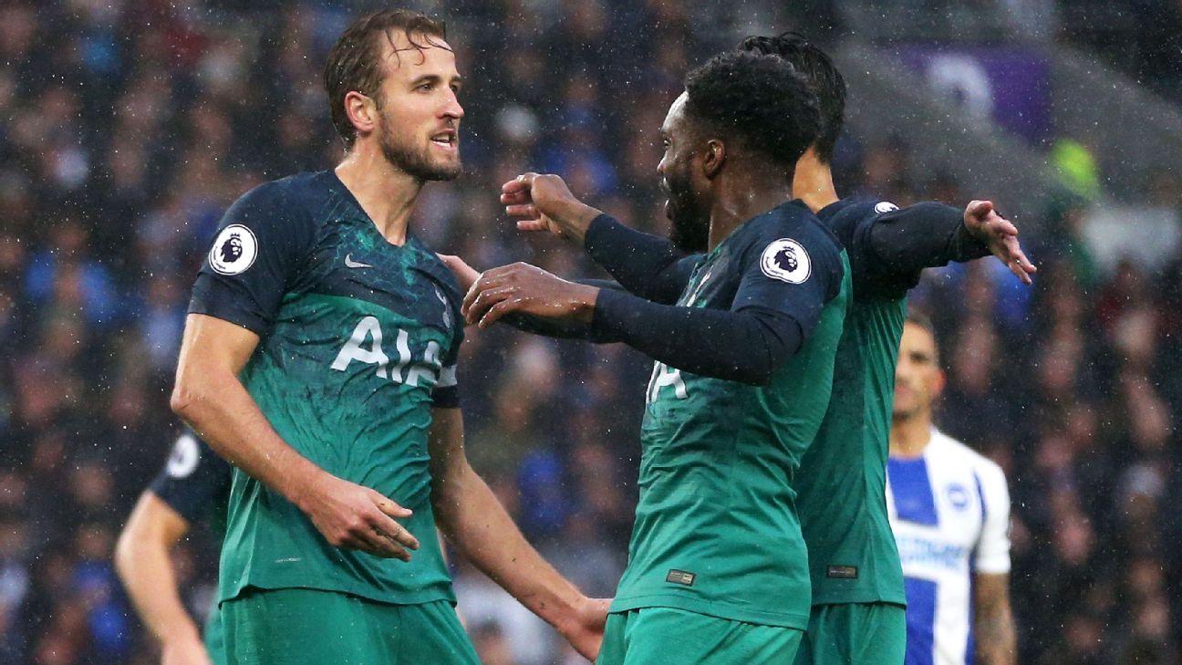 Harry Kane and Erik Lamela strike as Spurs return to winning ways