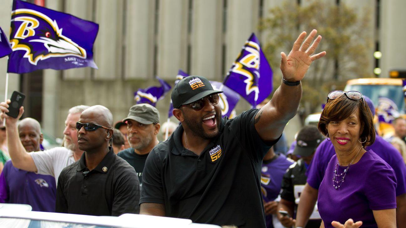 Baltimore le entregó las llaves de la ciudad al apoyador Ray Lewis