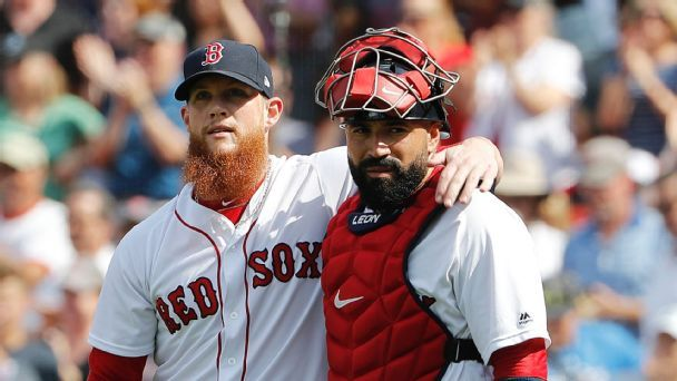 Sandy Leon gives Boston a new Tek solution behind the plate