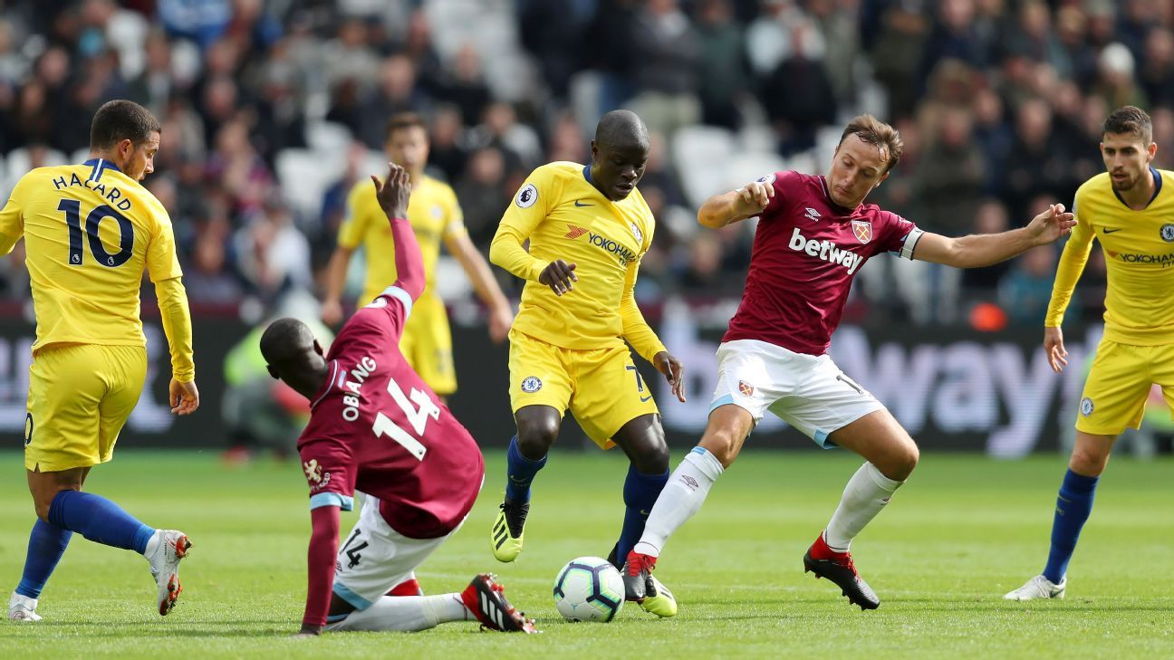 Chelsea boss Maurizio Sarri must not waste N'Golo Kante's talents