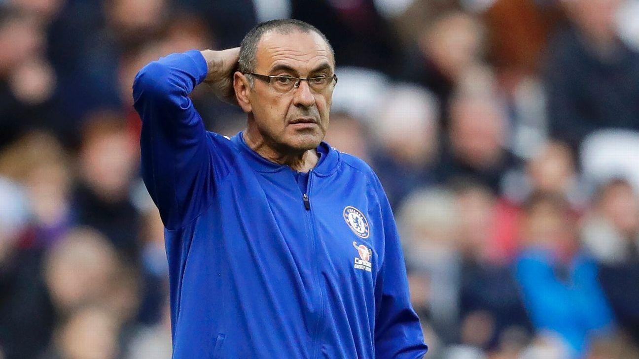 Chelsea can't blame Europa League fatigue for West Ham setback - Sarri