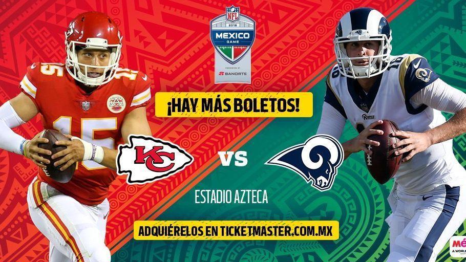 NFL México libera nueva tanda de boletos para el Estadio Azteca