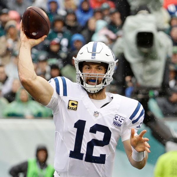Frank Reich: 'I have no concerns about velocity' with Andrew Luck