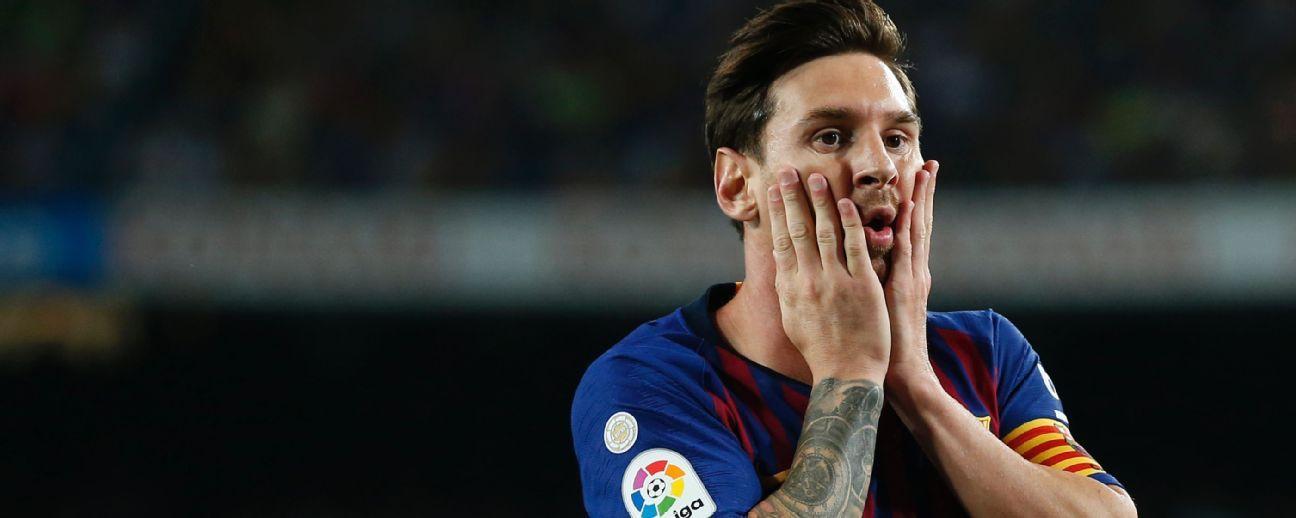 Messi también planta a la FIFA
