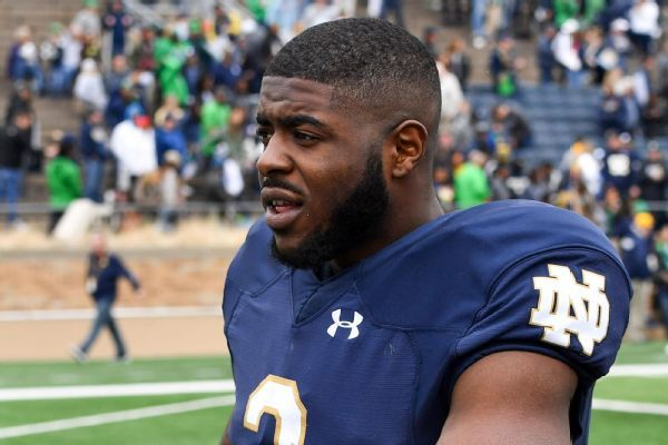 Notre Dame expects to get RB Dexter Williams back after 4-game absence