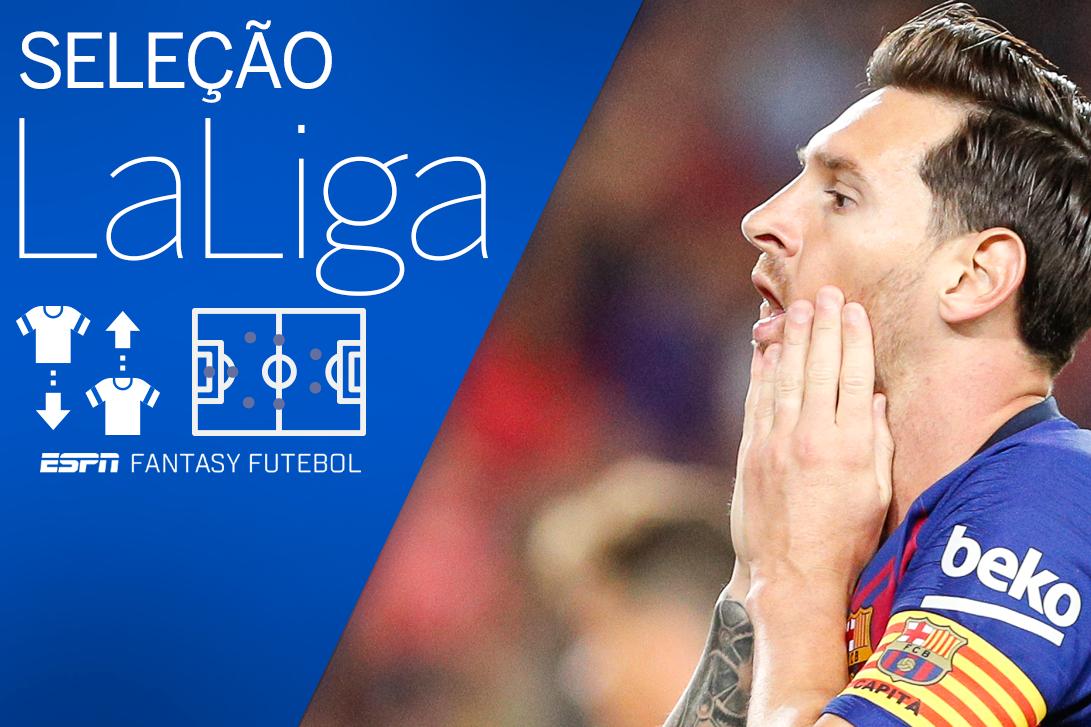 Messi entra na seleção, mas é superado por 3 em rodada incomum no Fantasy da Liga; veja a seleção