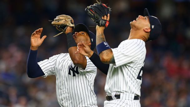 Yankees rookies Andujar, Torres braced for postseason pressure