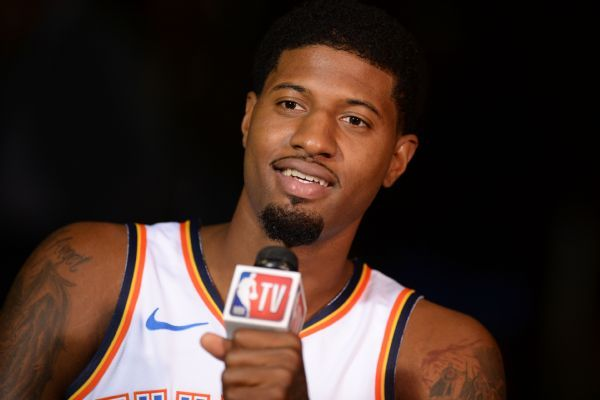 Thunder 'absolutely' built to contend, Paul George says