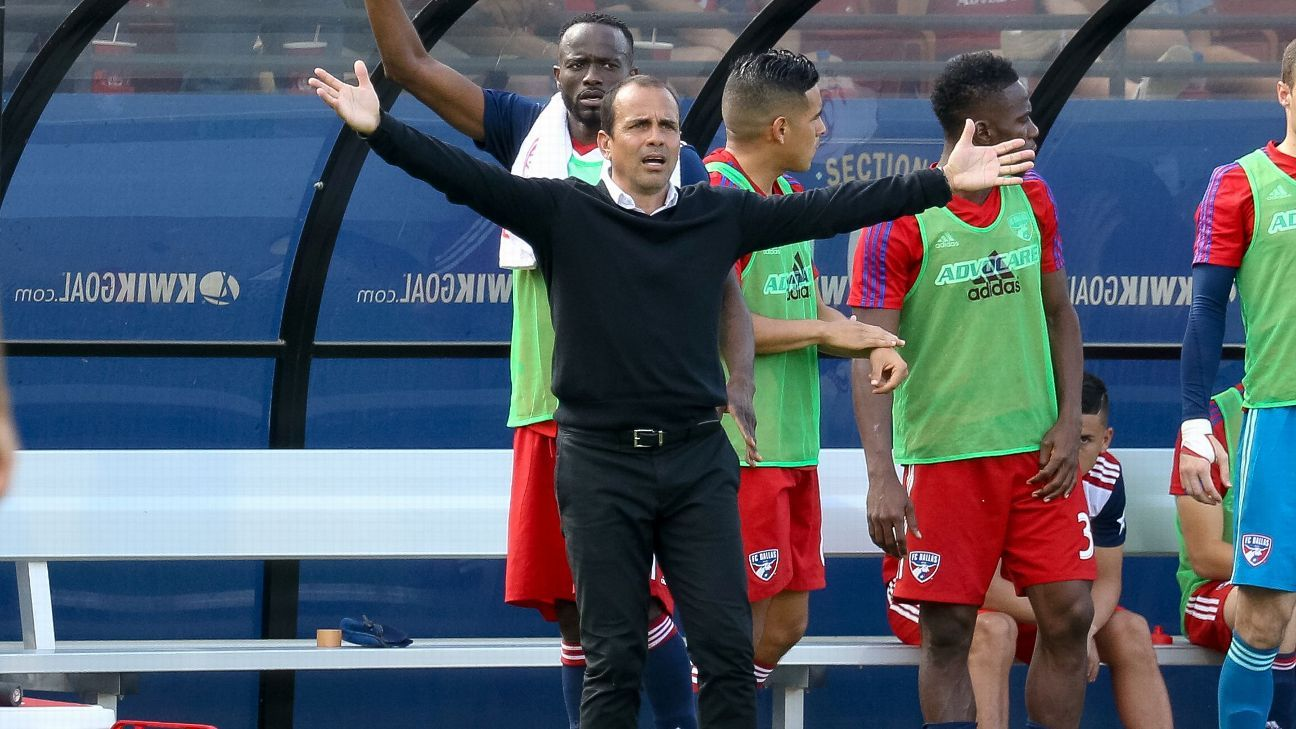FC Dallas' Oscar Pareja: 'I have not met with anyone' about coaching U.S. team