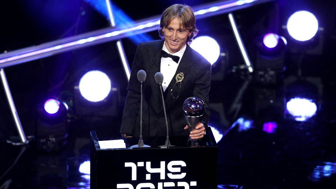 The Best votes revealed: Messi, Chhetri pick Modrić