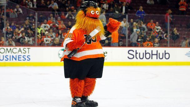 NHL mascot rankings: Gritty's big debut
