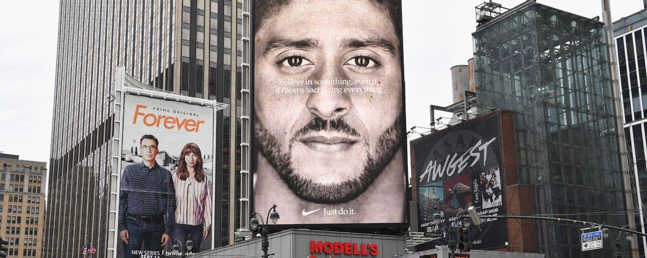 Nike: Anuncios con Kaepernick provocaron interacción récord con la marca