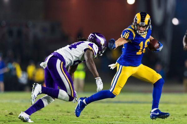 Rams WR Cooper Kupp 'could miss time' after straining MCL