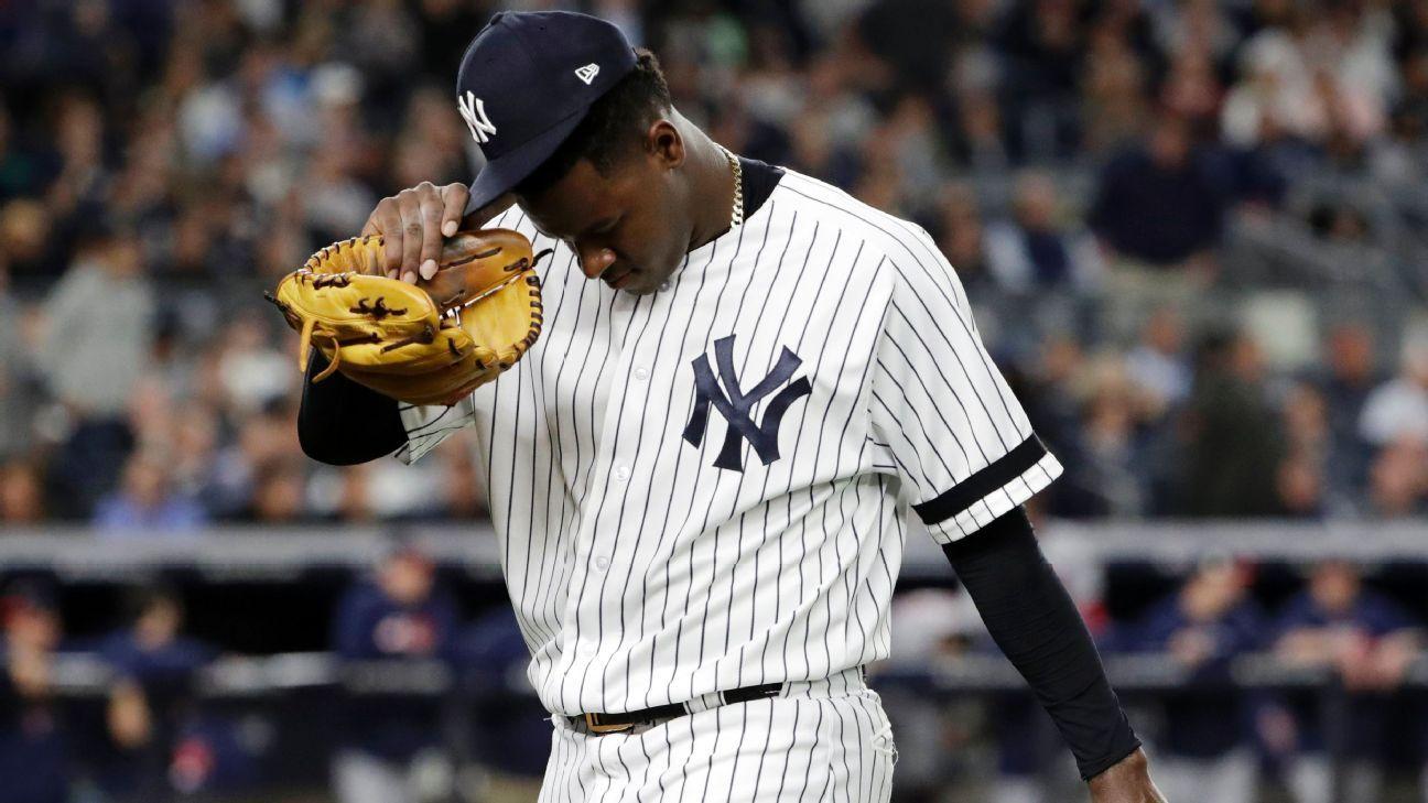 ¿Y si Severino implota de nuevo? Dentro de la estrategia de comodín de los Yankees.