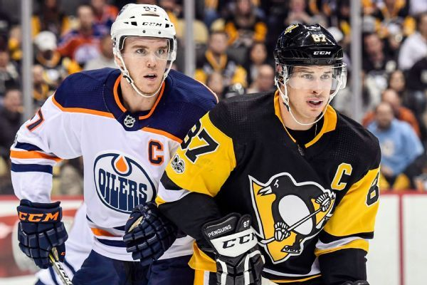Sidney Crosby: Connor McDavid 'easy pick' as NHL's top player