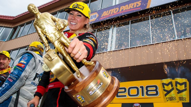 NHRA driver Leah Pritchett is thriving on Top Fuel-Factory