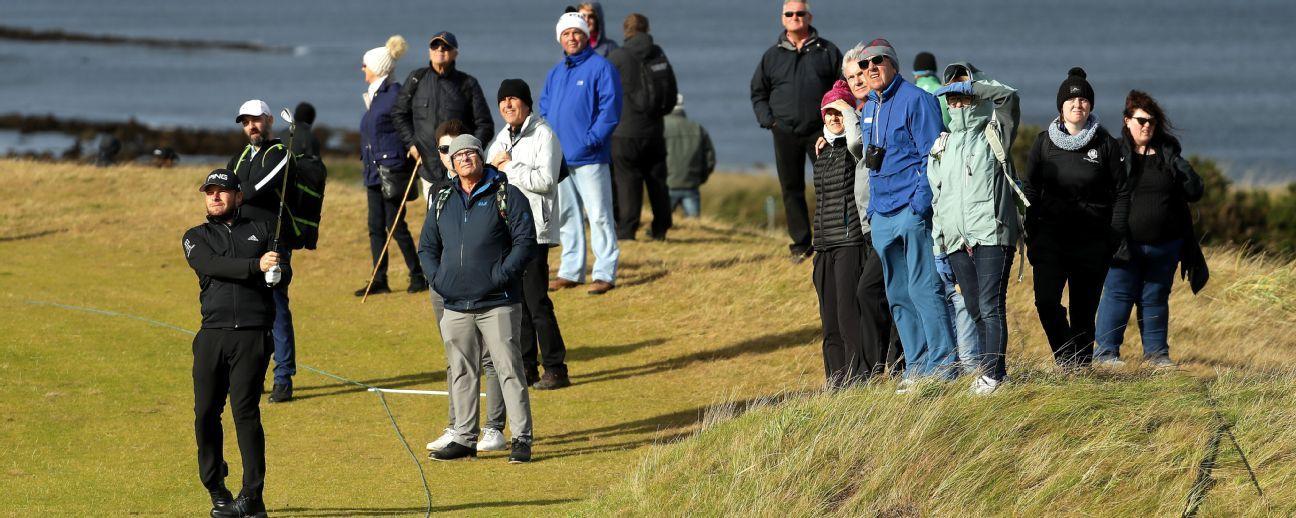 Nuevo incidente con espectadora golpeada por pelota de golf, ahora en Escocia