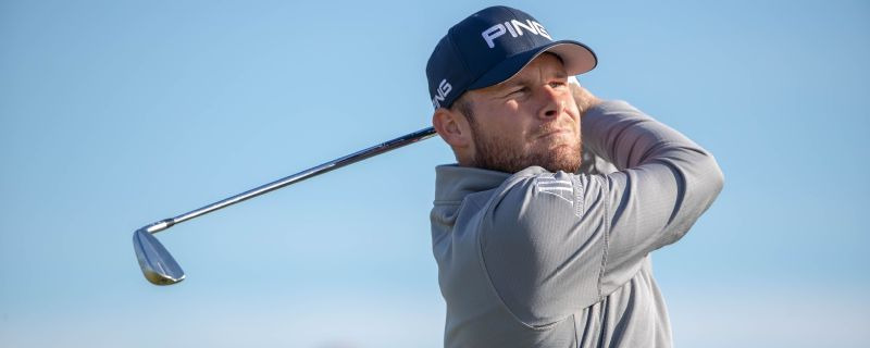 Alfred Dunhill Links: Tyrrell Hatton keeps in contention for third crown