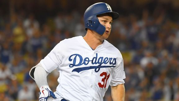 Joc Pederson replaces Chris Taylor leading off for Dodgers in NLCS