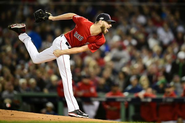 Red Sox ace Chris Sale leaves hospital after stomach illness