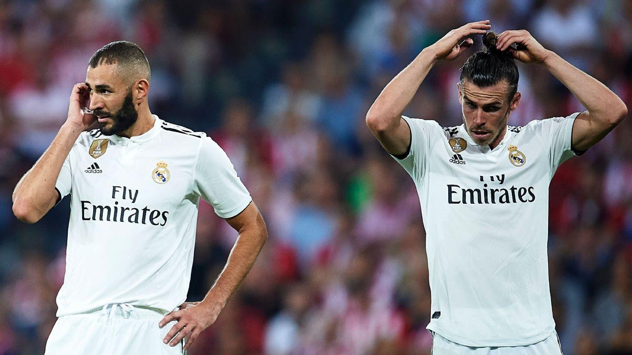 Benzema ya se entrena con el Real Madrid