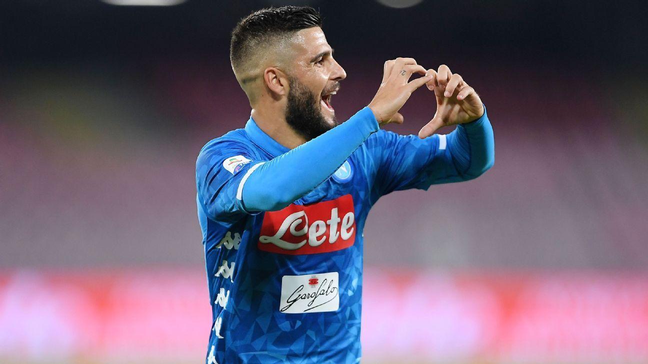 LIVE Transfer Talk: Liverpool eye move for Napoli striker Lorenzo Insigne
