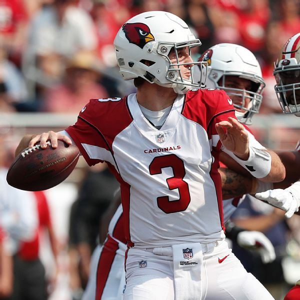Josh Rosen hurt late in Cardinals' blowout loss, awaits evaluation