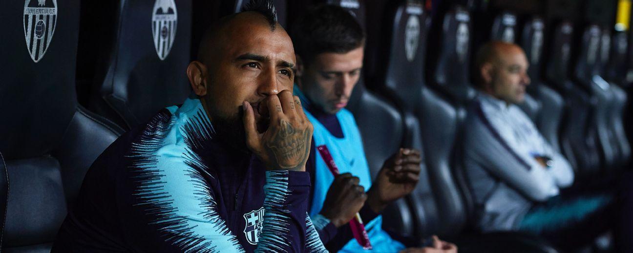Arturo Vidal sería opción en caso de emergencia en la defensa del Barcelona