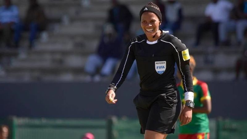 29393b9111c Akhona Makalima on becoming the certified female soccer referee in South  Africa